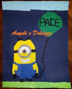 Cartellone mosaico per la Pace