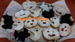 Ciambelline zucche, fantasmini  e pipistrelli